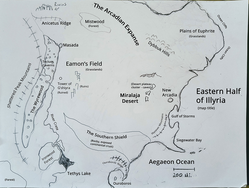 Rough Sketch of Eastern Half of Illyria