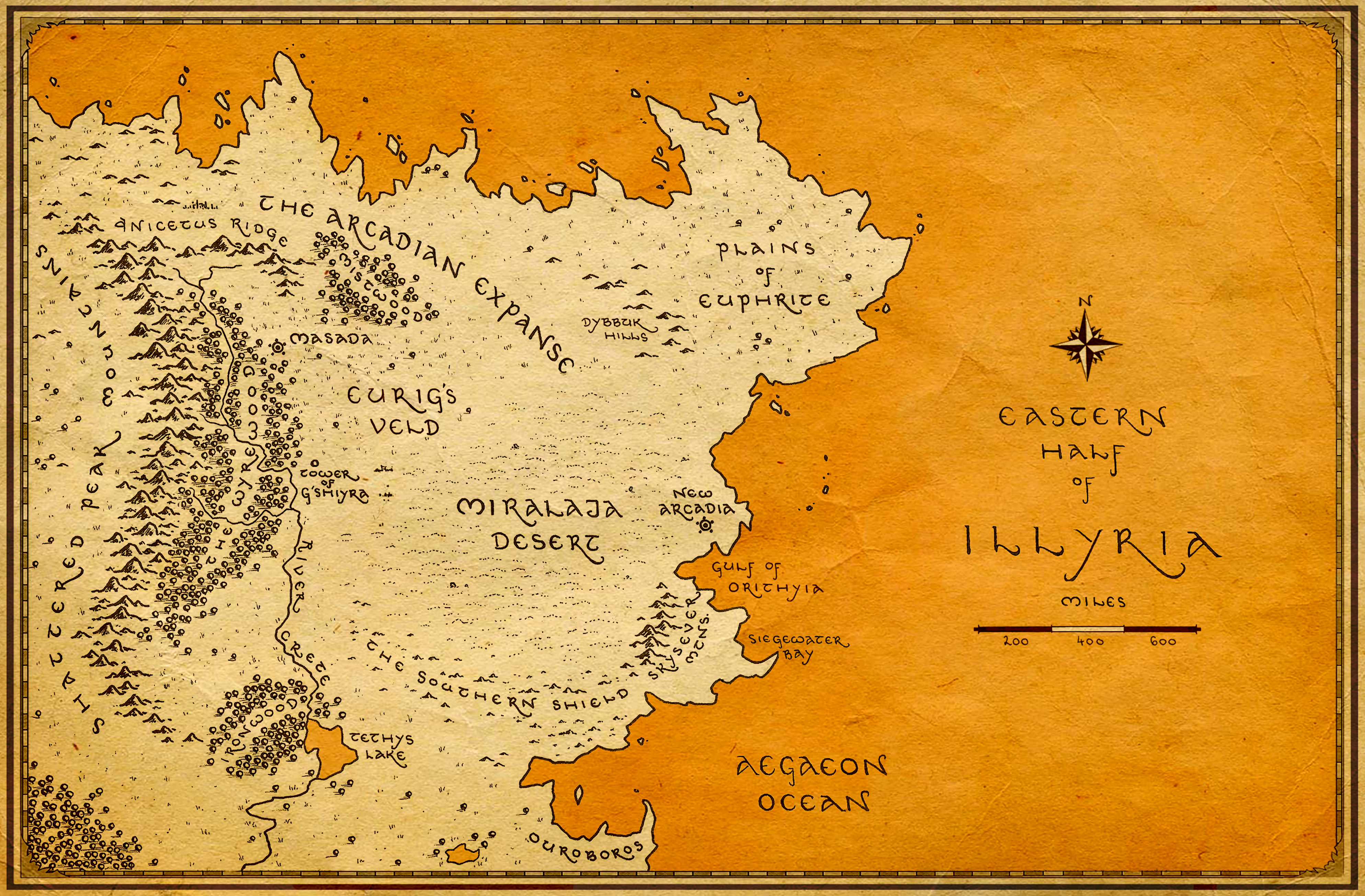 Final Artwork for the Eastern Half of Illyria