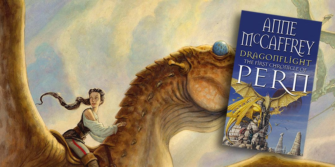 book review the dragonriders of pern dragonflight hg